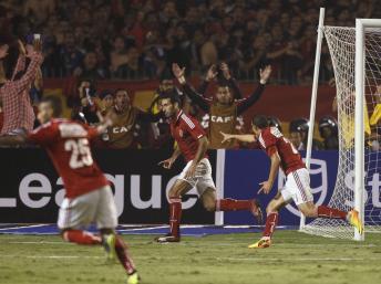 Al Ahly a remporté sa 8e Ligue des champions de la CAF, un record. REUTERS/Amr Abdallah Dalsh